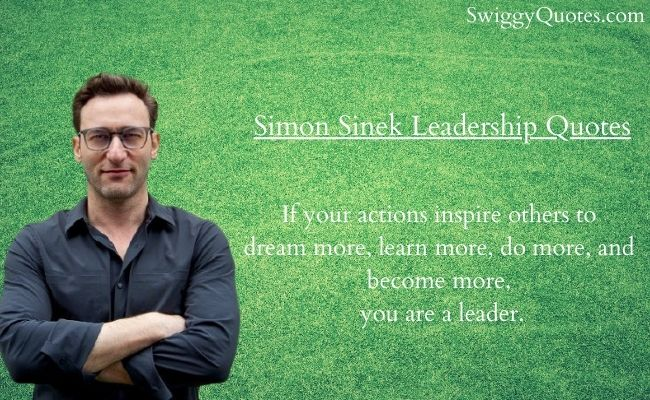 Simon Sinek Leadership Quotes with Images
