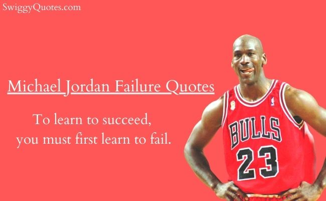 Michael Jordan Failure Quotes With Images