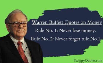 Warren Buffett Quotes on Money With Images