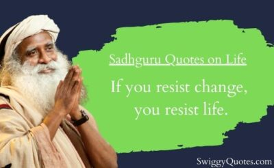 Sadhguru Quotes on Life with Images - Swiggy Quotes