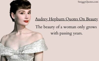 Audrey Hepburn Beauty Quotes with Images