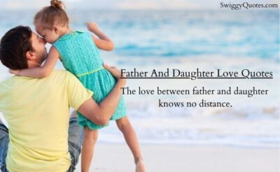 Father And Daughter Love Quotes with Images